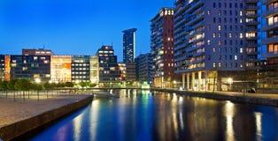 ландшафт зодчества урбанский Стоковая Фотография RF