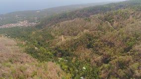 ландшафт Индонезия горы стоковая фотография rf