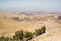 ландшафт Иордана Стоковые Фотографии RF