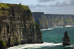 ландшафт Ирландии свободного полета западный Стоковая Фотография RF
