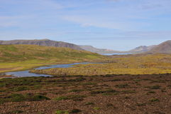 ландшафт Исландии Стоковое Фото