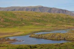 ландшафт Исландии Стоковое Изображение RF