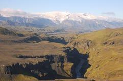 ландшафт Исландии Стоковое Изображение