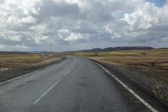 Ландшафт Исландия поездки вулканический стоковая фотография