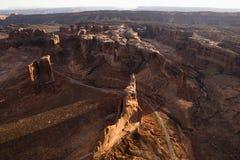 ландшафт каньона Стоковая Фотография