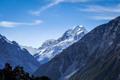 Ландшафт кашевара держателя Aoraki, Новая Зеландия стоковое фото