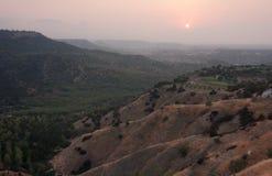 ландшафт Кипра Стоковая Фотография RF