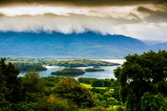 Ландшафт кольца Керри Killarney, Керри Ирландия стоковое фото rf