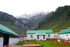 ландшафт коттеджей himalayan Стоковые Фотографии RF