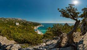 Ландшафт Крым природы красоты Стоковое Изображение RF