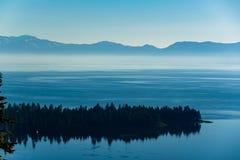 Ландшафт Лаке Таюое - Калифорния, США стоковое изображение