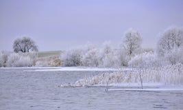 Ландшафт Литвы сельское место Стоковые Изображения