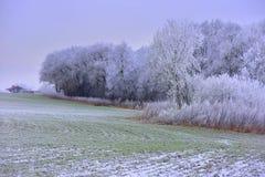 Ландшафт Литвы сельское место Стоковое Изображение RF