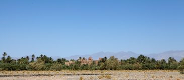 Ландшафт Марокко сельский Стоковое Изображение RF