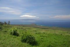 Ландшафт Мауи внутренние районы страны Стоковое Изображение RF