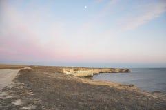 Ландшафт маяка над океаном Стоковая Фотография