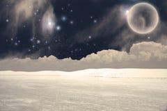 ландшафт мистический Стоковые Изображения