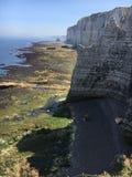 ландшафт моря Франции Стоковые Изображения
