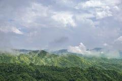 Ландшафт на горе стоковая фотография