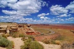 ландшафт на запад одичалый Стоковое Фото