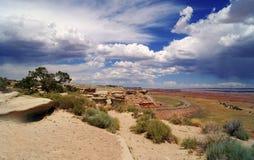 ландшафт на запад одичалый Стоковая Фотография