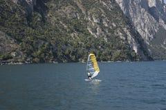 Ландшафт на озере garda Стоковое Изображение RF