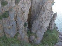 Ландшафт на падениях Shoeshone стоковая фотография