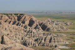 ландшафт неплодородных почв сценарный Стоковое Изображение