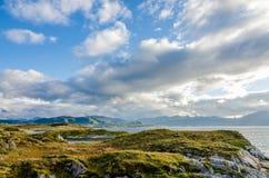 Ландшафт Норвегии стоковое фото rf