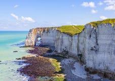 ландшафт Нормандия Стоковые Изображения RF