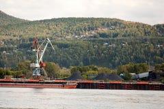 Ландшафт огромного индустриального строительства стоковое изображение rf