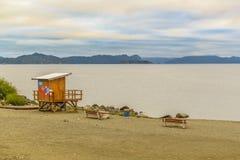 Ландшафт озера Nahuel Huapi, Bariloche, Аргентина Стоковое Изображение