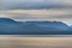 Ландшафт озера Nahuel Huapi, Bariloche, Аргентина Стоковые Фотографии RF