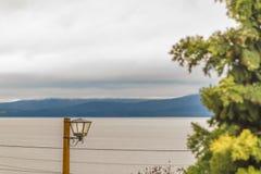 Ландшафт озера Nahuel Huapi, Bariloche, Аргентина Стоковое фото RF