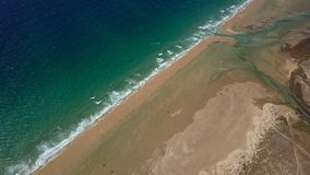 Ландшафт океана и пляжа Стоковое Фото