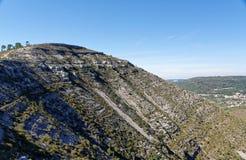 Ландшафт около Прая Jurassica Стоковое Изображение RF
