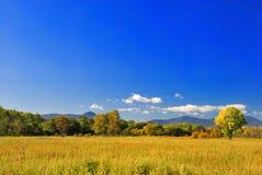 ландшафт осени красивейший стоковое изображение rf