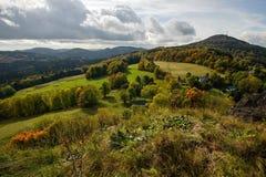Ландшафт осени красочный стоковое фото