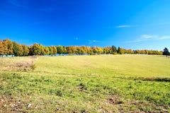 Ландшафт осени на Liptov Привлекательное назначение для релаксации Haj-Nicovo около Liptovsky Mikulas стоковые фотографии rf