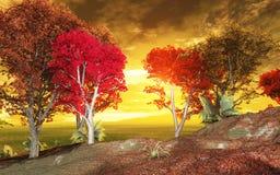 ландшафт осени Стоковые Фотографии RF