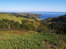 ландшафт острова shikotan Стоковое фото RF