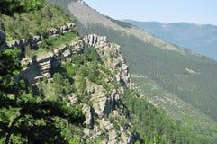 Ландшафт от вершины горы Стоковое Фото