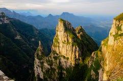 Ландшафт от montains стоковые изображения rf