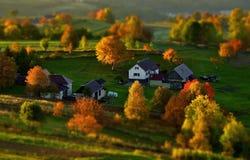 Ландшафт падения в Словакии Стоковое Изображение RF