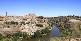 Ландшафт панорамы Toledo Перемещение Испании Стоковая Фотография