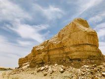 Ландшафт парка Yardan национального геологохимического, Цинхая, Китая Yardang было создано с течением времени мягкой частью земли стоковое изображение