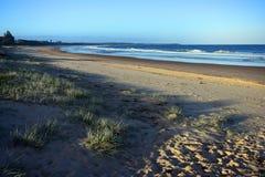 Ландшафт песчаного пляжа стоковые изображения