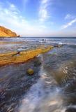 ландшафт пляжа Стоковая Фотография RF