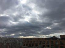 ландшафт политического шторма в Вашингтоне Стоковое Изображение RF