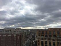 ландшафт политического шторма в Вашингтоне Стоковая Фотография RF